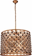 Urban Classic 1204D27GI-RC Madison Golden Iron 27.5  Drum Lighting Pendant