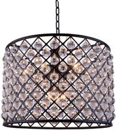 Urban Classic 1204D27MB-RC Madison Matte Black 27.5  Drum Pendant Lamp