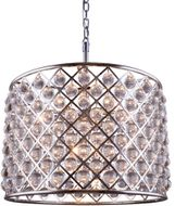Urban Classic 1204D27PN-RC Madison Polished Nickel 27.5  Drum Hanging Lamp