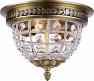 Urban Classic 1205F12FG-RC Olivia French Gold Flush Lighting