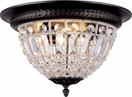 Urban Classic 1205F18DB-RC Olivia Dark Bronze Flush Mount Lighting