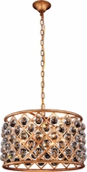 Urban Classic 1206D20GI-RC Madison Golden Iron 20  Drum Hanging Pendant Lighting
