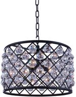 Urban Classic 1206D20MB-RC Madison Matte Black 20  Drum Lighting Pendant