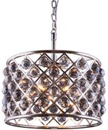 Urban Classic 1206D20PN-SS-RC Madison Polished Nickel 20  Drum Pendant Light Fixture