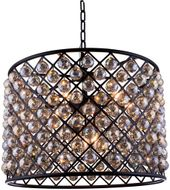 Urban Classic 1206D27MB-GT-RC Madison Matte Black 27.5  Drum Pendant Lighting Fixture
