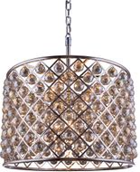 Urban Classic 1206D27PN-GT-RC Madison Polished Nickel 27.5  Drum Pendant Hanging Light