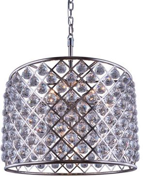 Urban Classic 1206D27PN-RC Madison Polished Nickel 27.5 Drum Hanging Light Fixture