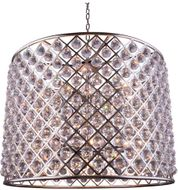 Urban Classic 1206D35PN-RC Madison Polished Nickel 35.5  Drum Drop Lighting Fixture