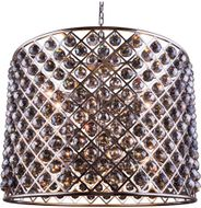 Urban Classic 1206D35PN-SS-RC Madison Polished Nickel 35.5  Drum Pendant Lighting