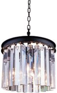 Urban Classic 1208D12MB-RC Sydney Matte Black Mini Drum Lighting Pendant
