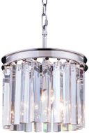 Urban Classic 1208D12PN-RC Sydney Polished Nickel Mini Drum Hanging Light