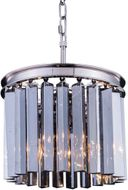 Urban Classic 1208D12PN-SS-RC Sydney Polished Nickel Mini Drum Pendant Light Fixture