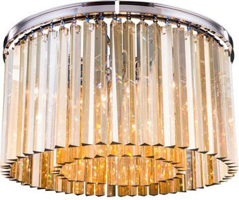 Urban Classic 1208F26PN-GT-RC Sydney Polished Nickel 26  Overhead Lighting Fixture