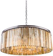 Urban Classic 1208G43PN-GT-RC Sydney Polished Nickel 43.5  Drum Drop Ceiling Light Fixture