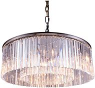 Urban Classic 1208G43PN-RC Sydney Polished Nickel 43.5  Drum Drop Lighting Fixture