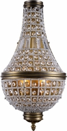 Urban Classic 1209W13FG-RC Stella French Gold Wall Light Sconce