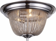 Urban Classic 1210F18PW Paloma Contemporary Pewter Overhead Light Fixture