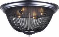 Urban Classic 1210F24DG Paloma Modern Dark Grey Overhead Lighting Fixture