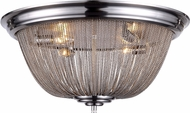 Urban Classic 1210F24PW Paloma Contemporary Pewter Ceiling Lighting