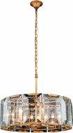Urban Classic 1211D26GI Monaco Golden Iron 26  Drum Drop Lighting Fixture