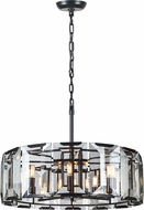 Urban Classic 1211D30FB Monaco Flat Black (Matte) Pendant Lighting Fixture