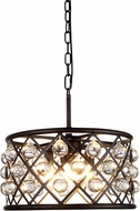 Urban Classic 1213D16MB-RC Madison Mocha Brown Hanging Light Fixture