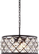 Urban Classic 1213D20MB-RC Madison Mocha Brown Drop Ceiling Lighting