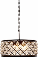 Urban Classic 1213D25MB-RC Madison Mocha Brown Ceiling Pendant Light
