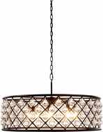 Urban Classic 1213D32MB-RC Madison Mocha Brown Drop Lighting Fixture