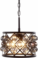 Urban Classic 1214D12MB-SS-RC Madison Mocha Brown Hanging Light