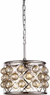 Urban Classic 1214D12PN-GT-RC Madison Polished Nickel Pendant Light Fixture