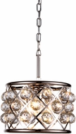 Urban Classic 1214D12PN-RC Madison Polished Nickel Pendant Lighting Fixture
