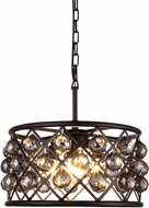 Urban Classic 1214D16MB-SS-RC Madison Mocha Brown Hanging Light Fixture