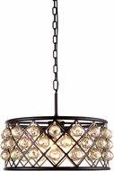 Urban Classic 1214D20MB-GT-RC Madison Mocha Brown Ceiling Pendant Light