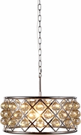 Urban Classic 1214D20PN-GT-RC Madison Polished Nickel Pendant Lighting