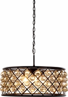 Urban Classic 1214D25MB-GT-RC Madison Mocha Brown Pendant Lamp