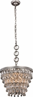 Urban Classic 1219D16AS-RC Nordic Antique Silver 16  Hanging Pendant Lighting