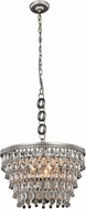 Urban Classic 1219D19AS-RC Nordic Antique Silver 19  Pendant Hanging Light