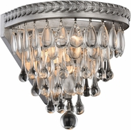 Urban Classic 1219W9AS-RC Nordic Antique Silver Lighting Sconce