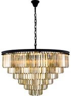 Urban Classic 1231D44MB-GT-RC Sydney Matte Black 44  Lighting Pendant