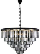 Urban Classic 1231D44MB-SS-RC Sydney Matte Black 44  Hanging Lamp