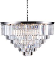 Urban Classic 1231D44PN-RC Sydney Polished Nickel 44  Pendant Light Fixture