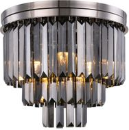 Urban Classic 1231F20PN-SS-RC Sydney Polished Nickel 20  Ceiling Light Fixture
