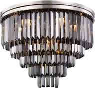 Urban Classic 1231F32PN-SS-RC Sydney Polished Nickel 32  Flush Ceiling Light Fixture