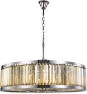 Urban Classic 1233G43PN-GT-RC Chelsea Polished Nickel 43.5  Drum Hanging Light