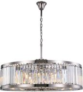 Urban Classic 1233G43PN-RC Chelsea Polished Nickel 43.5  Drum Pendant Light Fixture