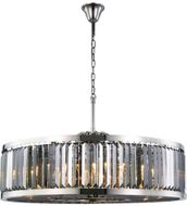 Urban Classic 1233G43PN-SS-RC Chelsea Polished Nickel 43.5  Drum Pendant Lighting Fixture