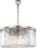 Urban Classic 1238D31PN-RC Sydney Polished Nickel 31.5  Drum Pendant Lighting