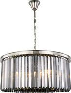 Urban Classic 1238D31PN-SS-RC Sydney Polished Nickel 31.5  Drum Pendant Light