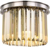 Urban Classic 1238F12PN-GT-RC Sydney Polished Nickel 12  Overhead Lighting Fixture